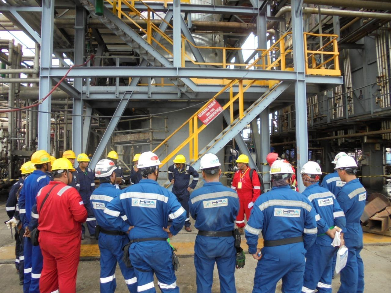 """Change Out Catalyst works"" for Pertamina Refinery Unit II Dumai"
